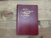 Vintage Pilot Logbook Journal 1999 TakeWing 6x9 Burgundy Cover USA
