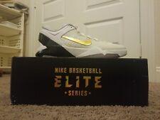 Nike Zoom Kobe VII 7 System Elite Home Basketball Shoes Mens SZ 12 White Playoff