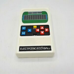 Electronic Football Mattel Hand Held Game TESTED AND WORKS!