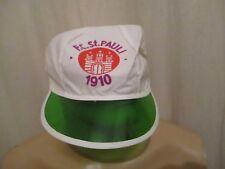 FC St.Pauli Original Sonnenmütze,Schirmmütze Durchsichtig Blende Mütze Neu