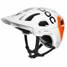 POC Helmet Mountain Bike Tectal Race Spin NFC White/Flo Orange Avip Size XS/S