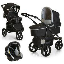 Hauck Kinderwagen Jogger 3 in 1 Set Viper SLX Trio - Grau inkl. Babyschale
