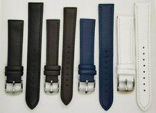 Uhrenarmband Leder 12 bis 26mm 175 bis 210mm lang Uhrenarmbänder Ersatzband Band