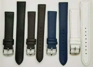 Uhrenarmband Leder 10 bis 26mm 175 bis 210mm lang Uhrenarmbänder Ersatzband Band