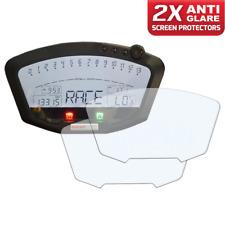 2 X DUCATI 848 1198 instrumento/dashboard/Speedo protector de pantalla AG