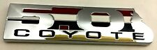 x1 New 5.0 / 50 Chrome Coyote 302 Boss Ford Mustang GT F150 Emblem Replaces OEM