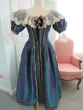 Vintage Women's Custom Renaissance Fair Theater Costume Dress Gorgeous Euc