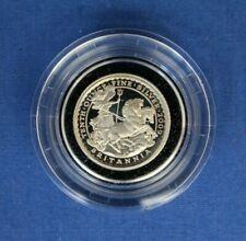 2009 Silver Proof 1/10oz Britannia 20p coin in Capsule