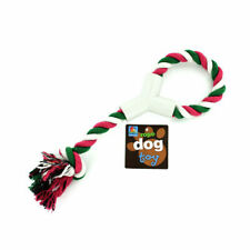 Dukes 12.5in Durable Twisted Rope Dog Tug Toy with Hand Grip