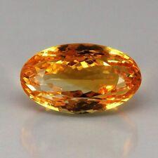 TOP MADEIRA CITRINE : 16,58 Ct Natürlicher Gold Orange Citrin aus Brasilien