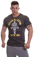 Gold's Gym T-Shirt GGTS002 Muscle Joe T Shirt Grey