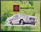 Original MG Magnette Mark III Car Sales Brochure Ref H&E 58132, Safety Fast