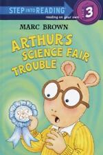 Arthur's Science Fair Trouble (Step into Reading)-ExLibrary