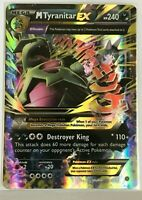 MEGA Tyranitar EX ULTRA RARE 43/98 Pokemon TCG XY Ancient Origins Holo Rare NM