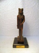 "Statuette en bronze :  "" Anubis "" (reproduction)"
