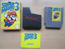 Nintendo NES - Super Mario Bros. 3 - BOXED Game - Manual INCLUDED