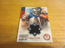Steven Holcomb 2014 Topps U.S. Olympic Team Relics #ORSH Card USA Bobsled