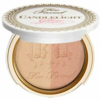 """Too Faced Candlelight Glow Highlighting Powder Duo """"Warm Glow"""" .35oz. Compact"""