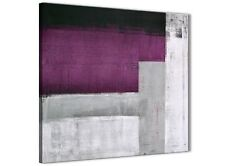 Purple Grey Painting Bathroom Canvas Accessories - Abstract 1s427s - 49cm
