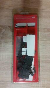 Herpa Minikit 013505 - 1/87 Steyr F 2000 Wechselpritschen-Hängerzug,Blanc - Neuf