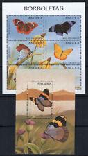 Angola 1998 MNH 100% Butterflies, Flowers, Nature