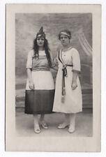 PHOTO ANCIENNE Déguisement La République Vers 1900 Écharpe tricolore Marianne