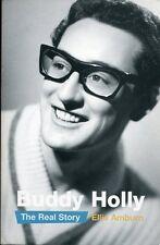BUDDY HOLLY Book:  Buddy Holly - The Real Story (Elli Amburn) (Virgin Books)