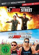 21 JUMP STREET + 22 JUMP STREET (Jonah Hill, Channing Tatum) 2 DVDs NEU+OVP