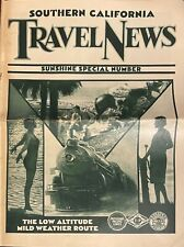 1920s Railroad Travels Sunshine Special Pacific Train Lines SoCal Railroadiana