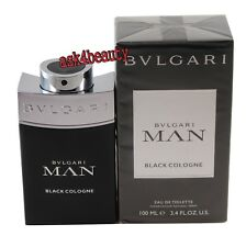 Bvlgari Man in Black Cologne Men Perfume Eau De Parfum Spray 3.4 Oz 100ml