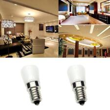 2Pcs 2W E14 2835SMD LED Replacement Light Bulb Refrigerator Spotlight Lamp Bulb