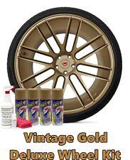 Plasti Dip Metallic Vintage Gold Deluxe Wheel Kit 11oz Aerosol Cans Dip Predip
