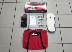 Jeep Wrangler Trail Rated Mopar Warn 91250 Emergency Tow Kit 82213901-AB