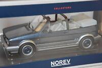 NOREV 188404 - Volkswagen VW Golf Cabriolet Bel Air 1992 Blue metallic 1/18