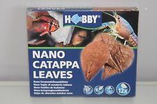 Aquarium Nano Catappa Feuilles 12 Convient Pour Poisson & Crevette