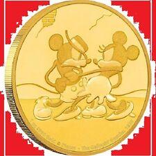 NIUE 2017 Disney  Mickey Mouse The Gallopin' Gaucho 1 oz Gold Coin!!! RARE