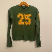 ABERCROMBIE & FITCH Long Sleeve Top Size Medium