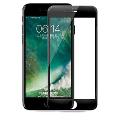 Black Tempered Glass Curved Full Covered Screen Protector For iPhone 7 Plus #M2