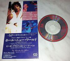 CD PEABO BRYSON & REGINA BELLE - A WHOLE NEW WORLD - ALADDIN - ALADINO - JAPAN