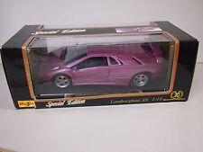 MAISTO Lamborghini SE 30 Year Special Edition Die Cast Car 1:18 METALLIC PINK?