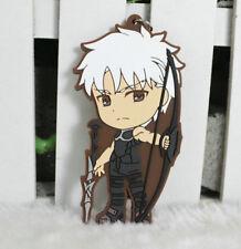 fate grand order fgo archer silicone key chain anime keychain new 1pc