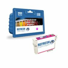 Cartuchos de tinta magenta para impresora Epson sin anuncio de conjunto