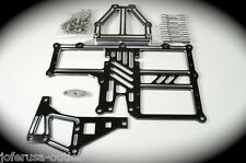 MCD Quick Release Servo Tray set  for Older MCD Racing car By Jofer USA Raw Alum