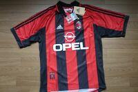 AC Milan 100% Original adidas Jersey Shirt M 1998/1999 Home NEW Rare [1923]
