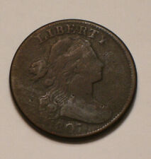 1807 Draped Bust Large Cent FULL DETAIL
