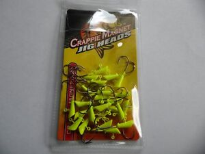 NEW    CRAPPIE MAGNET -  HEADS 25 pc PK  1/32