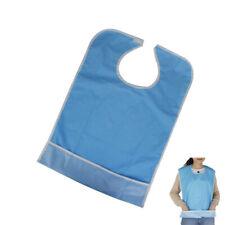Waterproof Adult Mealtime Protector Large Adult Bib Durable Senior Dinner Apron
