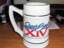 PITTSBURGH STEELERS Vintage Super Bowl XIV Champions Stein Mug NFL
