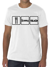 EAT SLEEP 5.0 FORD MUSTANG t-shirt S550 FOXBODY