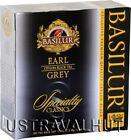 Earl Gray Ceylon Tea 100 Tea Bags 200 g Basilur Direct from Sri Lanka